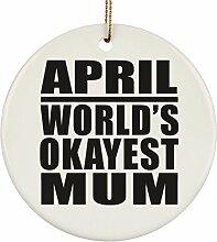 Mutter-Ornament Apr-World's Okayest Mum –