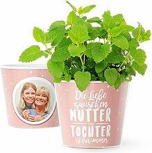 Mutter Tochter Geschenk - Blumentopf (ø16cm) für