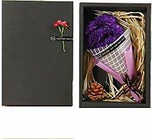Muttertag Nelke Blumenstrauß Geschenk Seife Blume