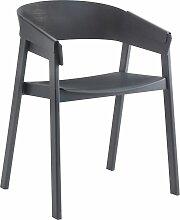 Muuto Cover Stuhl Anthrazit