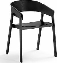 Muuto Cover Stuhl Schwarz