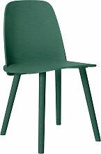 Muuto Nerd Chair Stuhl Grün