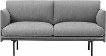 Muuto Outline Studio Sofa Zweisitzer (b) 140.00 X