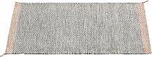 Muuto Ply Teppich 85x140 Schwarz-weiß (l) 140 X