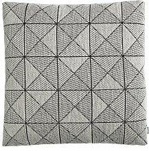 Muuto Tile Kissen Schwarz/weiß (l) 50 X (b) 50 Cm