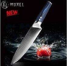 Muxel Kochmesser The Blue Kinfe, das blaue Messer: