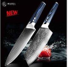 Muxel Messer-Set The Blue Knife Das Blaue