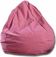MUYSM Kinder - Erwachsener Highback Wasserdichter Bohnenbeutelstuhl Soft Sitzsäcke & Snuggly Stuhl Bohnenbeutel Gaming Sitzsack Garten Sitzliege Innen- Und Außenbereich ( farbe : Pink , größe : 80*80cm )