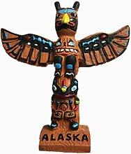 MUYU Magnet 3D Alaska Totem Pole USA
