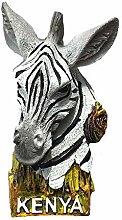 MUYU Magnet 3D Kenia Zebra Souvenir Kühlschrank