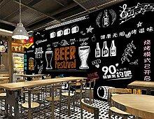 Muzemum Bar Hintergrundwand Moderne 3D Tapeten