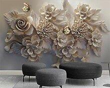 Muzemum Blumenhintergrundwand 3D Wand Papers