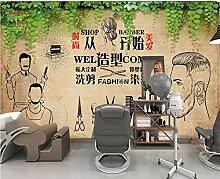 Muzemum Friseurladen Fototapete - Vlies Wand