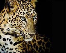 Muzemum Leopard Hintergrundwand Moderne 3D Tapeten