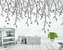 Muzemum Pflanze Hintergrundwand Custom tapete Mode