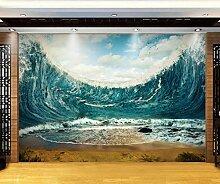 Muzemum Tsunami Hintergrundwand 3D Wand Papers