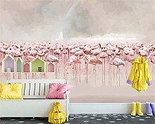 Muzemum Vogelschwarm Hintergrund TV Hintergrund