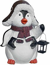MW Handel Pinguin XXL Figur Solar Lampe