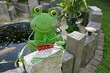 MW Handel Yoga Frosch Gartendeko Deko Meditation