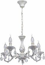 MW-Light 371012605 Kerzen Kronleuchter 5 Flammig