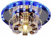 MWG Moderne Kristallleuchter-runde Deckenleuchte
