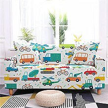 MWMG Couchbezug,Stretch Sofa Schonbezüge Cartoon