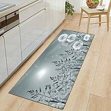 MWMG Teppich Läufer Flur,Rutschfester Teppich