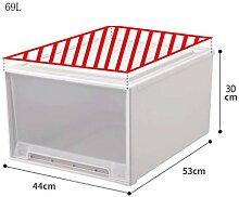 MWPO Einweg-Aufbewahrungsbox Schubladenschrank