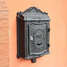 MXD Briefkasten-Landhaus-im Freien Briefkasten-an