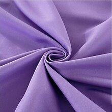 MXJ61 Hotel Restaurant Folding Blumen Mund Tuch Einfarbig Serviette Tuch 48 * 48 cm ( Farbe : Lavender , größe : 10 Pcs/Set )