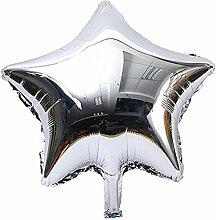 mxjeeio 18inch Stern-Ballon-Helium Deko Ballons