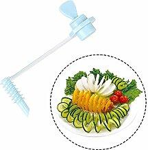 mxjeeio 1pcs Karotten Gurke Rotary Shredder