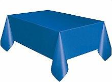 mxjeeio Einweg-Tischdecke Einwegkunststoff Folie