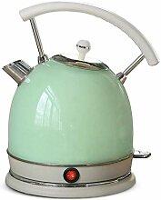 MXL Klassischer Wasserkocher, Edelstahlkessel,