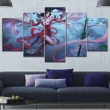 MXLYR Leinwanddrucke Home Dekorative Arbeit Bilder