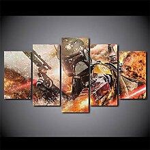 MXLYR Leinwanddrucke Movie Poster Wandkunst
