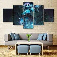 MXLYR Leinwanddrucke Wanddekor Malerei Poster 5