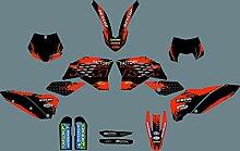 MXP 1049 Graphics Customized Motorrad Graphic Kit