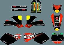 MXP Grafik Customized Motorrad Graphic Kit