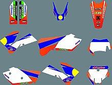 MXP Grafik Dirt Bike Grafik Motorrad Aufkleber Kit
