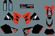 MXP Graphic Customized Dirt Bike Graphic Motocross