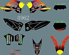 mxp Graphics DST0962 Dirtbike-Aufkleber-Set für