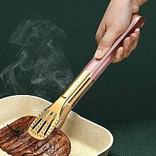 Mxue Grillzange aus Edelstahl, für Grillen,