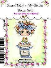 My-Besties Clear Stamps 4-Zoll x 6-inch-Homemade