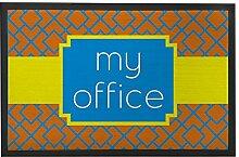 My Büro Fußmatte Welcome vorne Teppich