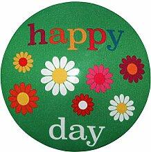 my bumpy Images Türstopper / Briefbeschwerer, Tür Halter, Happy Day, H 2,5 cm, Ø 13 cm, 2700