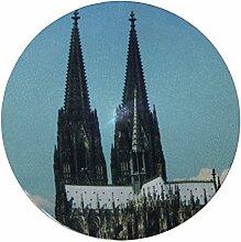 my bumpy SE Türstopper / Briefbeschwerer, Tür Halter, Kölner Dom, H 2,5 cm, Ø 13 cm, 2270