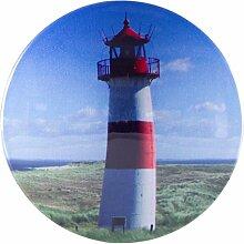 My Bumpy Türstopper / Briefbeschwerer, Tür Halter, Leuchtturm, H 2,5 cm, Ø 13 cm, 2188