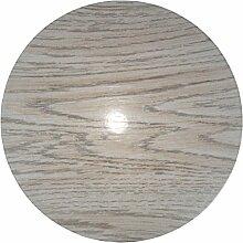 my bumpy Woody Türstopper / Briefbeschwerer, Tür Halter, White Beech, H 2,5 cm, Ø 13 cm, 2806