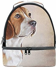 My Daily Kinder Isolierte Lunch Box Beagle Hund